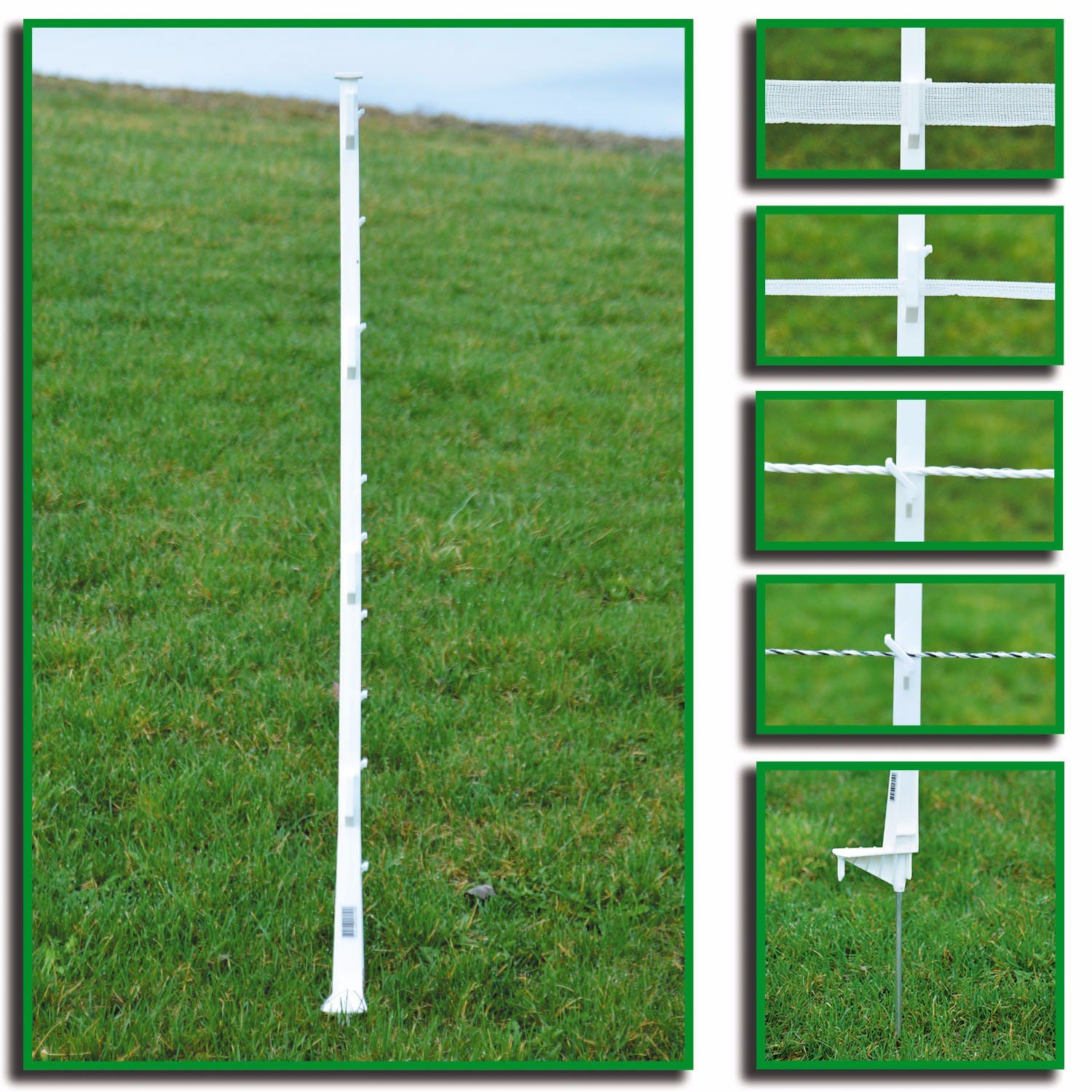 49 Quot Step In Post Powerfields High Quality Electric Fence