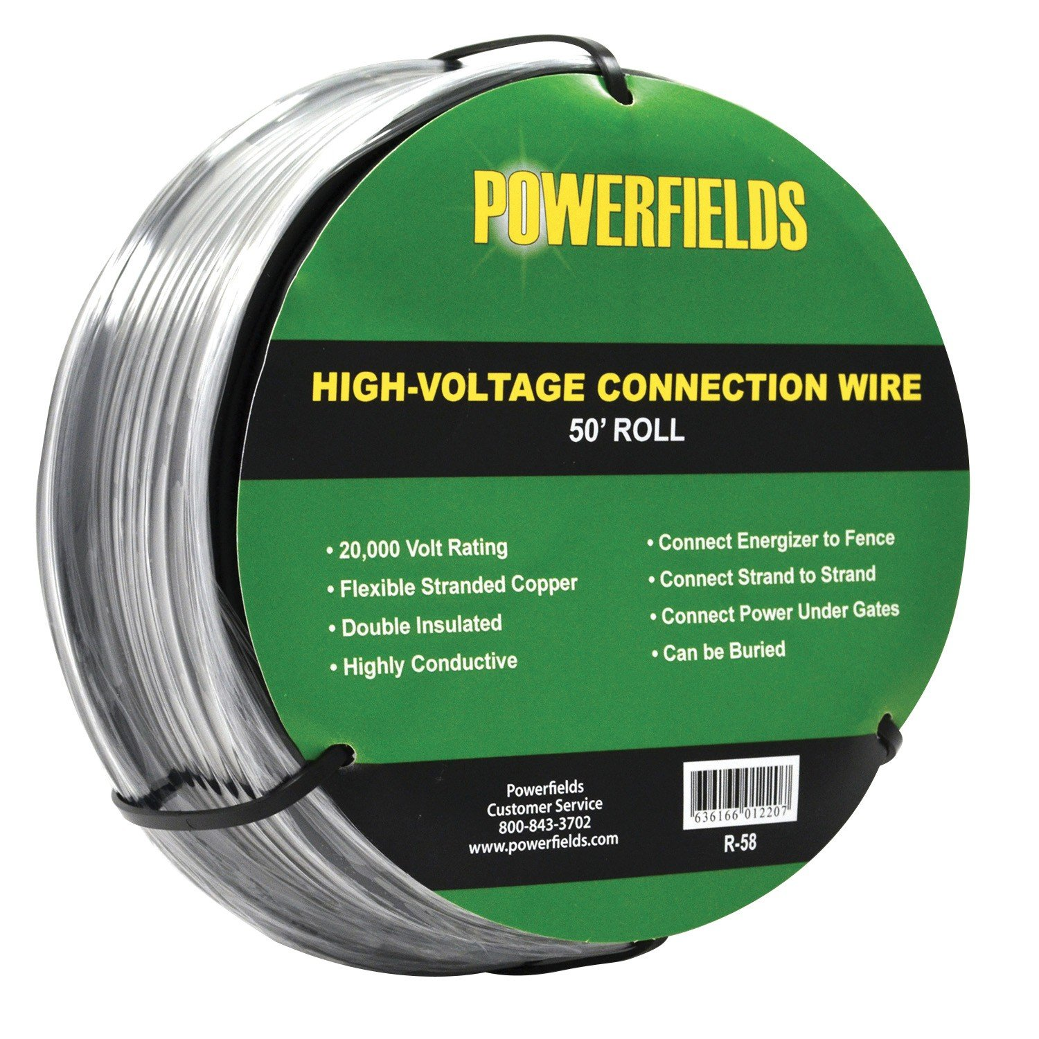 High Voltage Wire Powerfields Quality Electric Fence Wiring An