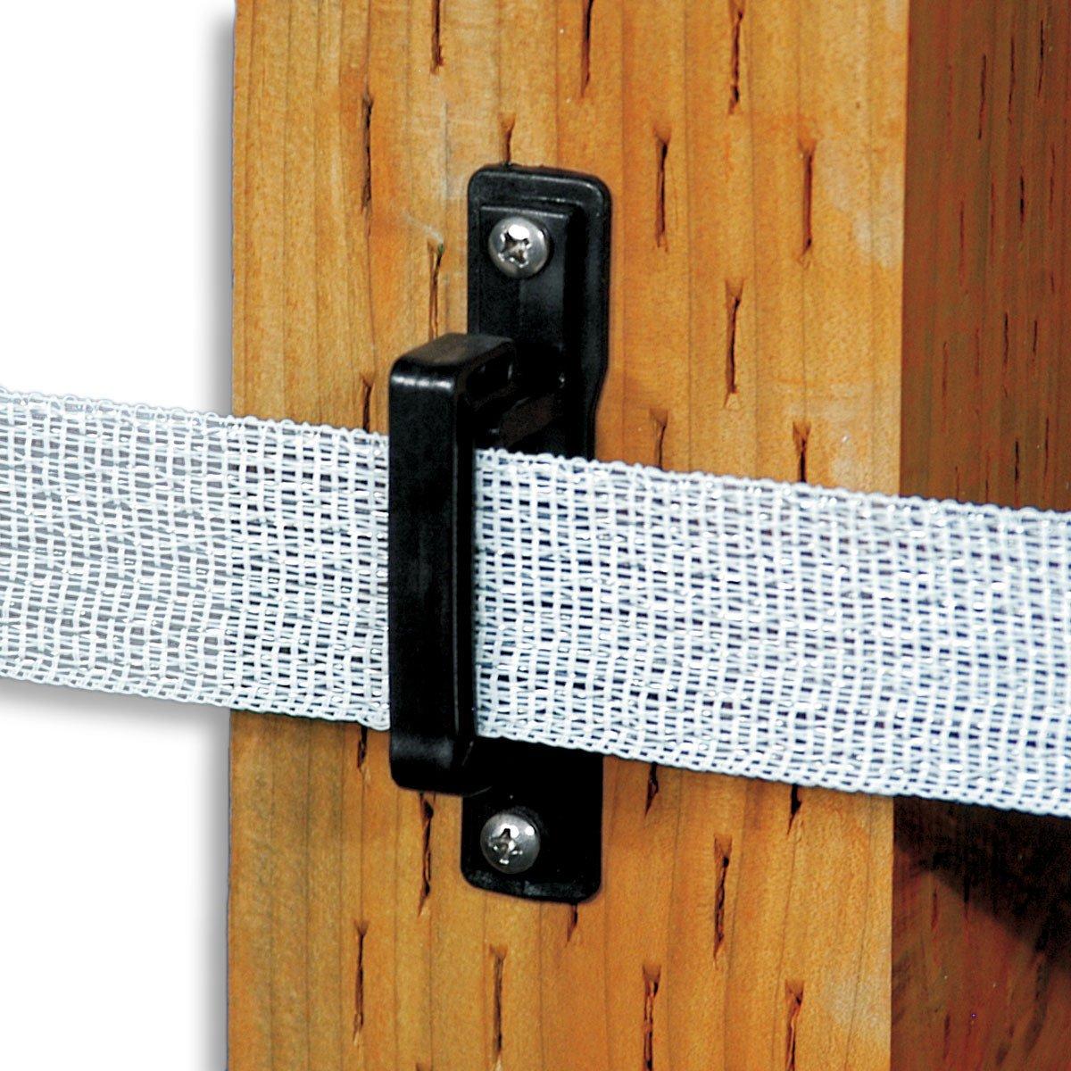 Wood Vinyl Post Polytape Insulator Powerfields High