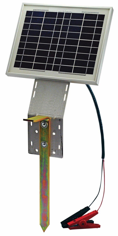 20 Watt Solar Panel W Ground Stake Powerfields High