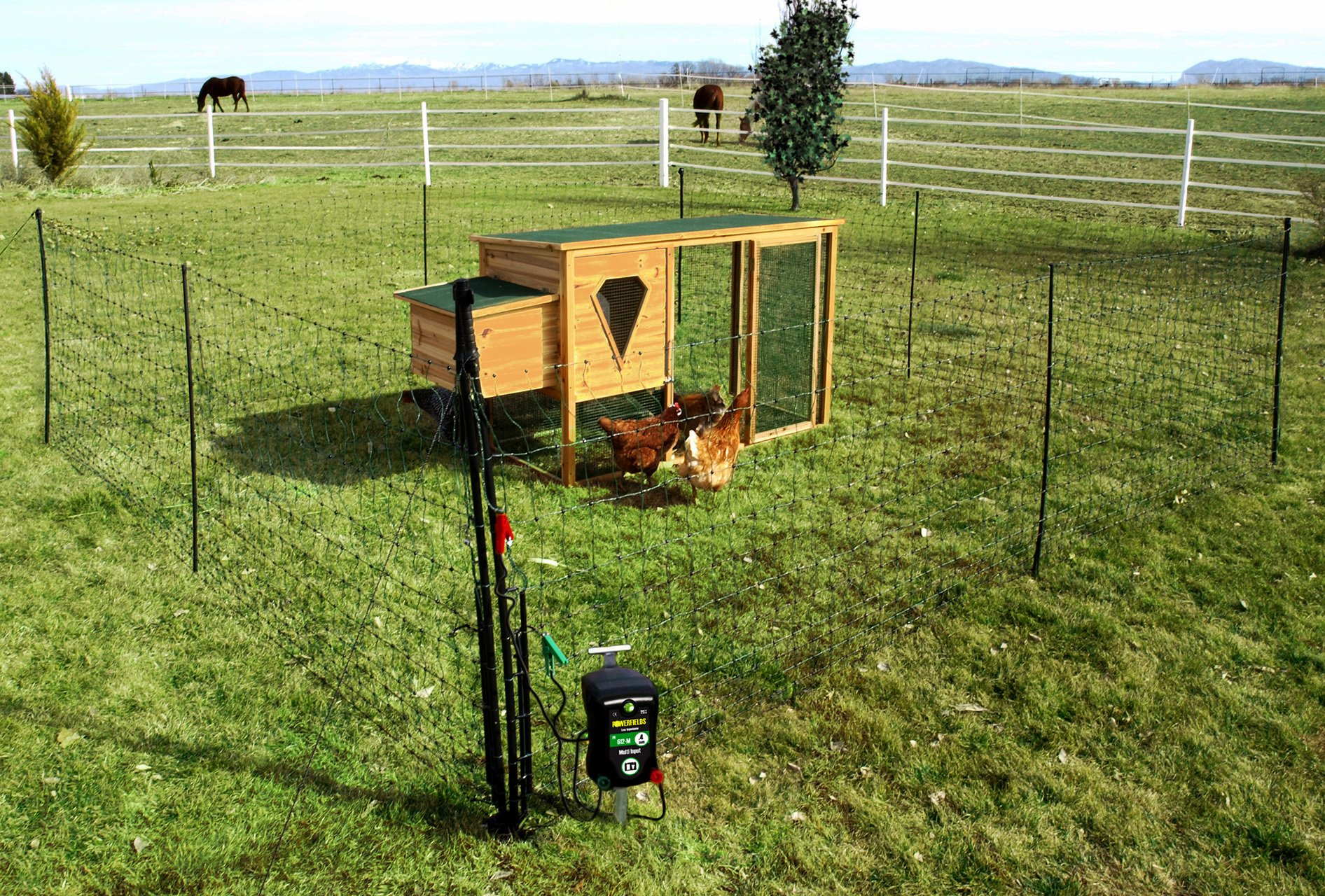 52 electric poultry pen powerfields high quality electric fence